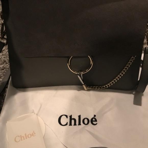 4889dd9465 Chloe Bags | Frye Medium Grey Bag | Poshmark